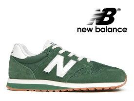 NEW BALANCE U520 EM ニューバランス スニーカー レディース メンズ フォレスト 緑【国内正規品】