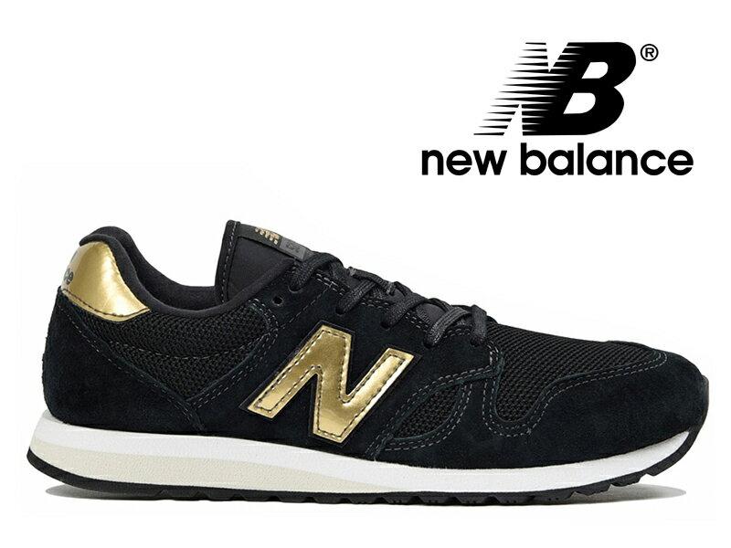 ニューバランス スニーカー ブラック レディース 黒 金 NEW BALANCE WL520 GDB【国内正規品】