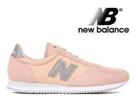 ニューバランス レディース スニーカー NEW BALANCE WL220 TE ピンク/グレー【国内正規品】