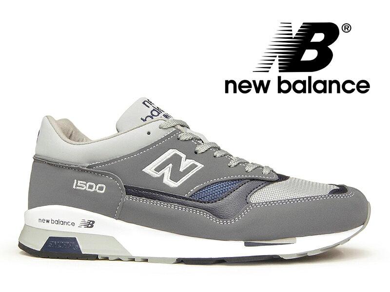 【ポイント20倍】ニューバランス NEW BALANCE M1500 UK G グレー イングランド スニーカー 1500 【国内正規品】