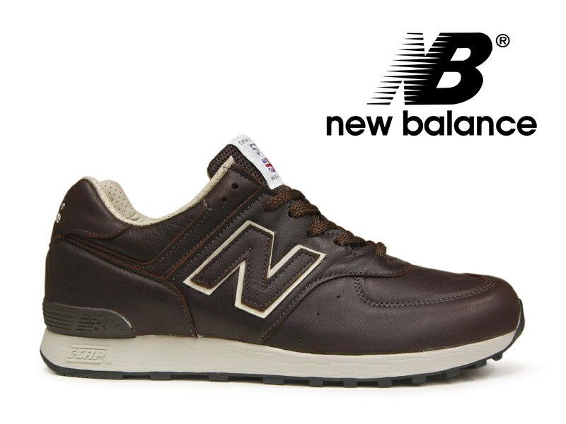 【ポイント20倍】ニューバランス NEW BALANCE M576 UK CBB ブラウン/ベージュ レザー 茶 メンズ スニーカー イングランド【国内正規品】