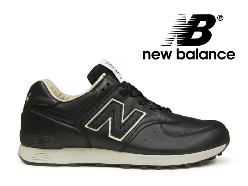 【ポイント20倍】ニューバランス NEW BALANCE M576 UK CKK ブラック/ベージュ 黒レザー メンズ スニーカー イングランド【国内正規品】