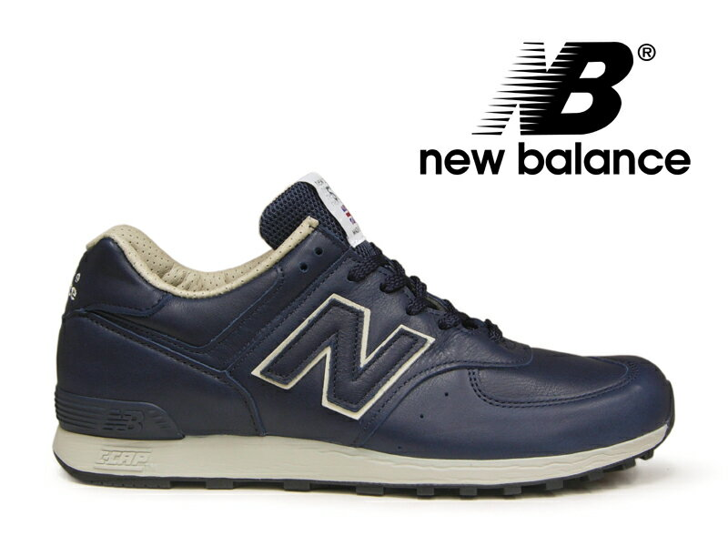 【ポイント20倍】ニューバランス NEW BALANCE M576 UK CNN ネイビー/レザー 紺 メンズ スニーカー イングランド【国内正規品】