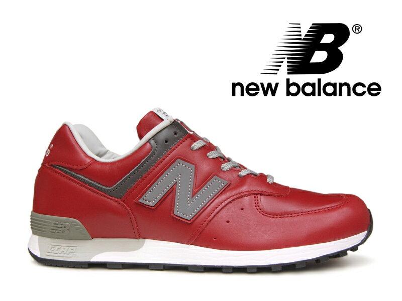 【ポイント20倍】ニューバランス NEW BALANCE M576 UK RED レッド 赤 レザー メンズ スニーカー【国内正規品】