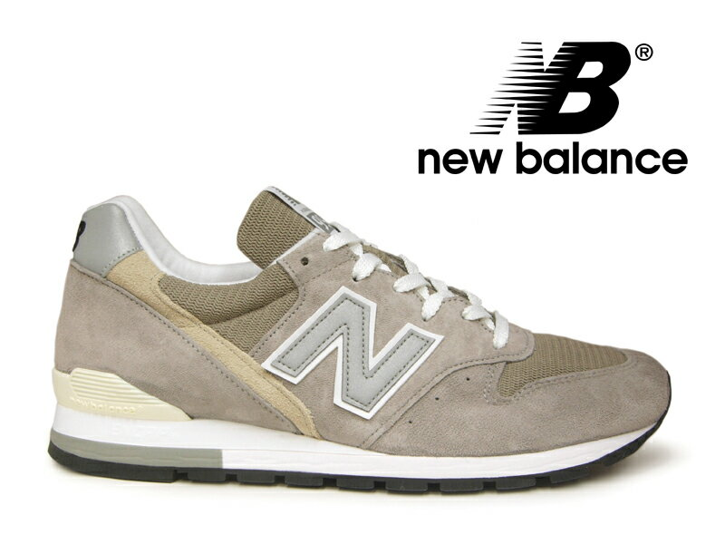 【27.5cmのみ】NEW BALANCE M996 GY アメリカ製 ニューバランス 996 グレー レディース メンズ 【国内正規品】
