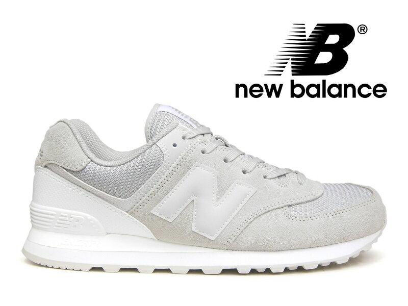 ニューバランス NEW BALANCE ML574 WB レディース メンズ グレー【国内正規品】