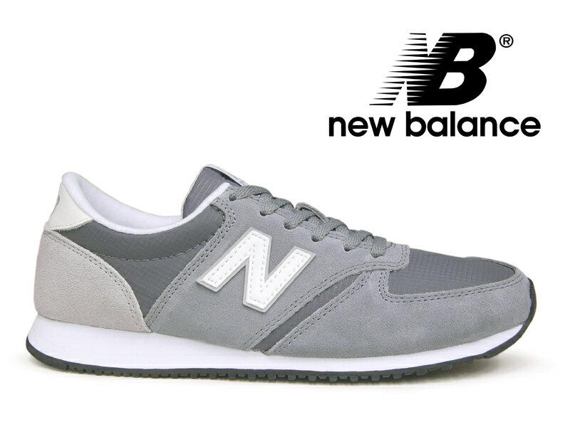 ニューバランス レディース NEW BALANCE WL420 CRD グレー【国内正規品】
