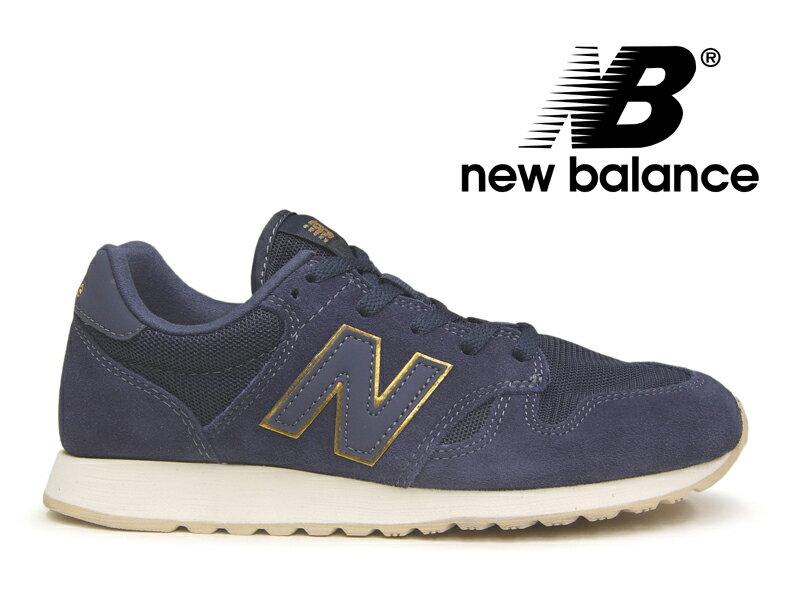ニューバランス レディース NEW BALANCE WL520 MG スニーカー ネイビー 紺金【WR996 後継モデル】【国内正規品】