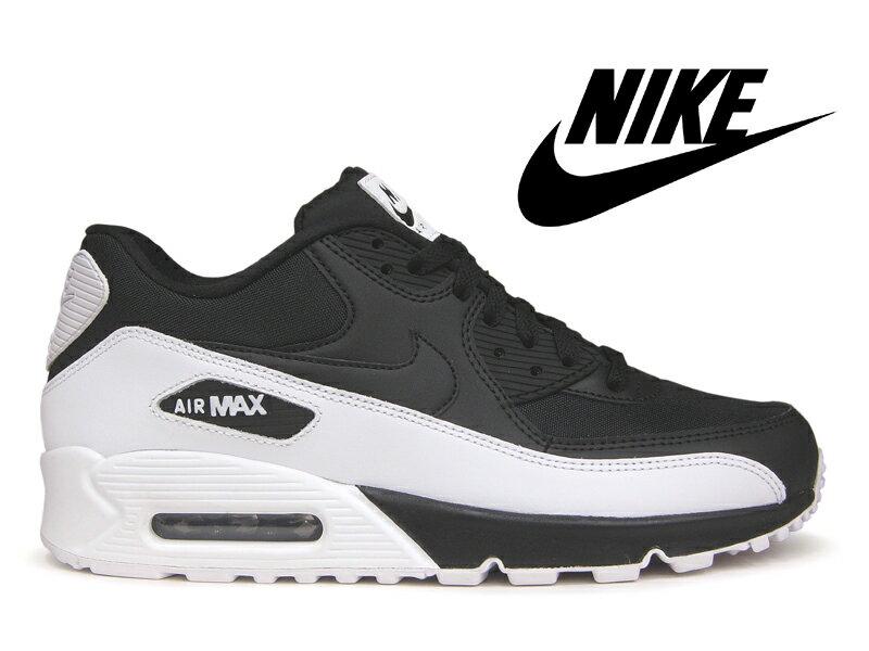 NIKE AIR MAX 90 ESSENTIAL ナイキ エアマックス 90 エッセンシャル ブラック/ホワイト 黒白 メンズ