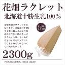 ラクレット 北海道十勝産生乳100%使用!花畑牧場 ラクレット ハーフカット 2.3kg【冷蔵のみ】【D+2】