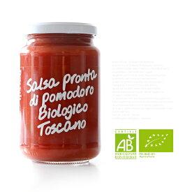 生トマトソース オーガニック 350g ラ・クチネッタ イタリア 【常温/冷凍不可】【D+0】