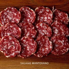 サラミ マントヴァーノ 2mmスライス ハイ食材室LABO イタリア産サラミ 【200g】