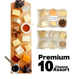 【週50セット限定販売】 チーズ 詰め合わせチーズ10種とドライフルーツのプレミアムアソート 職人切りたてを直送 ギフト プレゼント