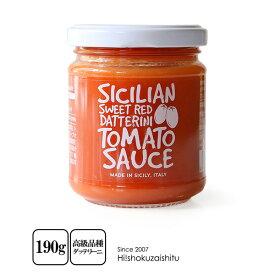 ラ・クチネッタ カラフルミニトマトソース スイートレッド【190g】【常温/全温度帯可】