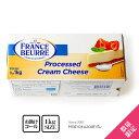 フランス産 クリームチーズ 大容量1kg フランスブールプロ 【1kg】【冷蔵のみ】