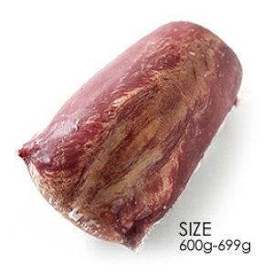 NZ産ビーフ 牛タンブロック(ムキタン) 牧草牛100%の赤身肉!成長促進ホルモン剤、抗生物質未残留!世界最高の安全水準 のNZ産(牛たん 厚切り)【約650g(600-699g)】【冷凍のみ】グラス