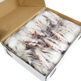 切り渡り蟹 Mサイズ(21尾〜25尾) 1kg【冷凍のみ】【D+0】【父の日 ギフト プレゼント お返し お中元 パーティ】※現在青色のパッケージに変更となっております