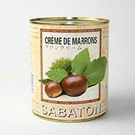 サバトン:マロンクリーム 1kg缶【常温/全温度帯可】【D+0】【父の日 ギフト プレゼント お返し お中元 パーティ】