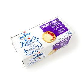 フランス産 クリームチーズ 【1kg】カンディア プロ クリームチーズ【チーズ】 【冷蔵のみ】【D+1】業務用