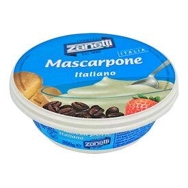 ザネッティマスカルポーネ 【250g】【フレッシュチーズ】【マスカルポーネチーズ】【冷蔵のみ】【D+2】