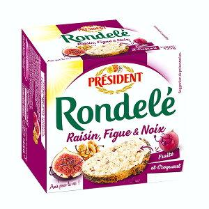 ロンデーレ イチジク&レーズン 【125g】 【フレッシュチーズ】【冷蔵のみ】【D+2】