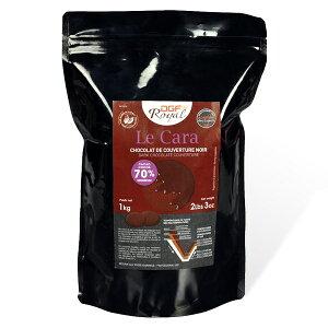 DGF クーベルチュール ロワイヤル カラ ノワール コイン状【1kg】 【常温/全温度帯発送可】 チョコレート 製菓