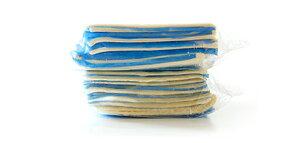 サックリ感が好評!【NZ産フレッシュバター100%使用】冷凍パイシート正方形10枚×2(パイ生地)【冷凍のみ】【D+0】