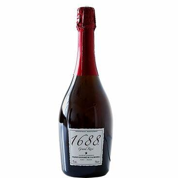 1688 グラン・ロゼ 高級ノンアルコール スパークリング Grand Rose フランス産 750ml[ジュース]【常温/冷凍不可】【D+2】【ギフト パーティー プレゼント お返し】【2017 お中元 こだわり ギフト!】