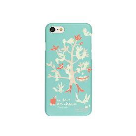 iPhone8 iPhone7 ケース Happymori Bird Tree(ハッピーモリ バードツリー)アイフォン カバー スタンド型 送料無料