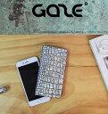 ポイント10倍 保護フィルムプレゼント中 iPhone8 iPhone7 ケース 手帳型 GAZE Hologram Croco Diary(ゲイズ ホログラムクロコダイ…