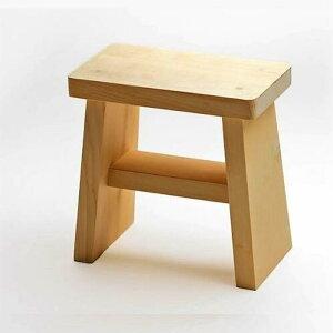青森ヒバ 風呂 椅子 (特大)[32×18×32cm(高さ)(一枚板)]『木製』