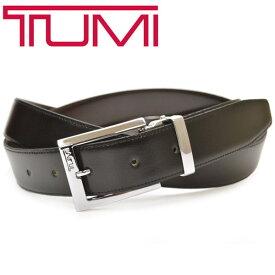 レザーベルト トゥミ メンズ TUMI リバーシブルベルト ビジネス サイズ調整可能 etm011 015468NSDB-OS ブラック/ブラウン