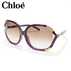 Chloe クロエ レディース バタフライ型サングラス サイズ/F/ it002 CE618SA:パープル