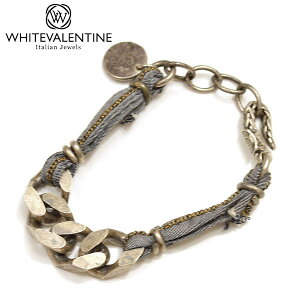 WHITE VALENTINE ホワイトバレンタイン メンズ/レディース チェーンブレスレット サイズ/F/ wb028 OTBR 10275 :デニム