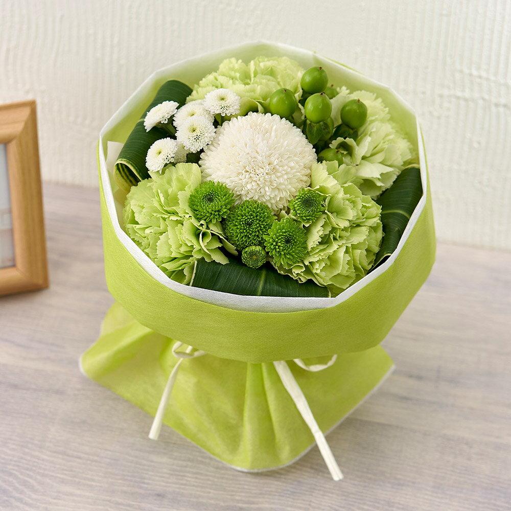 【日比谷花壇】 花束 お供え用 そのまま飾れるブーケ「メモワール」 【ネット限定】