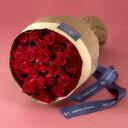 【日比谷花壇】30本の赤バラの花束「アニバーサリーローズ」【ネット限定】
