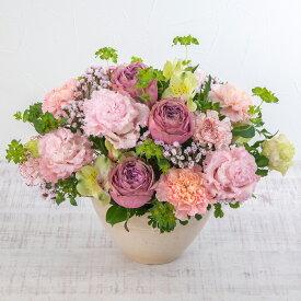 【日比谷花壇】 アレンジメント「バースデーメロディケーキ」 プレゼント ギフト 誕生日 記念日 結婚祝い 結婚記念日