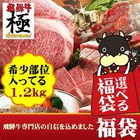 楽フェス【稀少部位入】選べる飛騨牛リッチなハッピーバッグ
