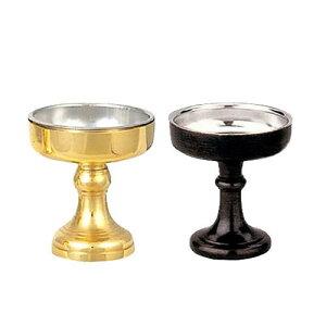伝統型 仏飯器 真鍮 サイズ:4号(高さ:6.6cm)