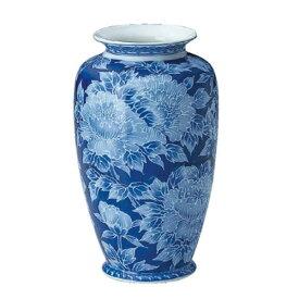 陶器 夏目花瓶(ロウケツボタン) サイズ・大(高さ:27cm)
