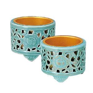 陶器 透し香炉 サイズ:小