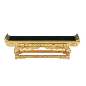 純金 上前彫 前卓(西用) サイズ:8.0寸