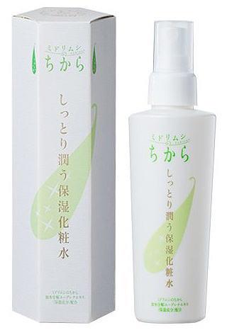 ミドリムシのちから しっとり潤う保湿化粧水 150mL【送料無料】【10】