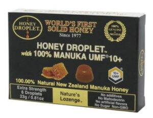 ハニードロップレットUMF10+ マヌカハニー 6粒 10個セット【送料無料】ハニージャパン