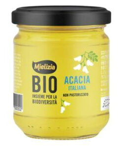 ミエリツィア アカシアの有機ハチミツ 250g 4個セット【送料無料】【EUオーガニック規定認証品】