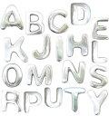 アルミアルファベットマグネット [2O-194] ■ アメリカ雑貨 アメリカン雑貨 英字 磁石 インテリア 掲示 ローマ字 デス…