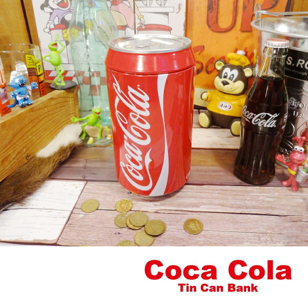 【貯金箱】コカコーラ ブリキ缶バンク ■ カン ブリキ アメリカン雑貨