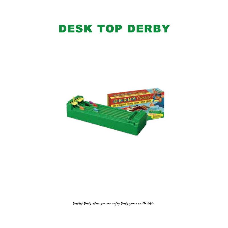 デスクトップダービー ■ 競馬 おもしろ パーティー イベント 卓上 馬 試合 ゲーム アメリカン雑貨 【あす楽対応】