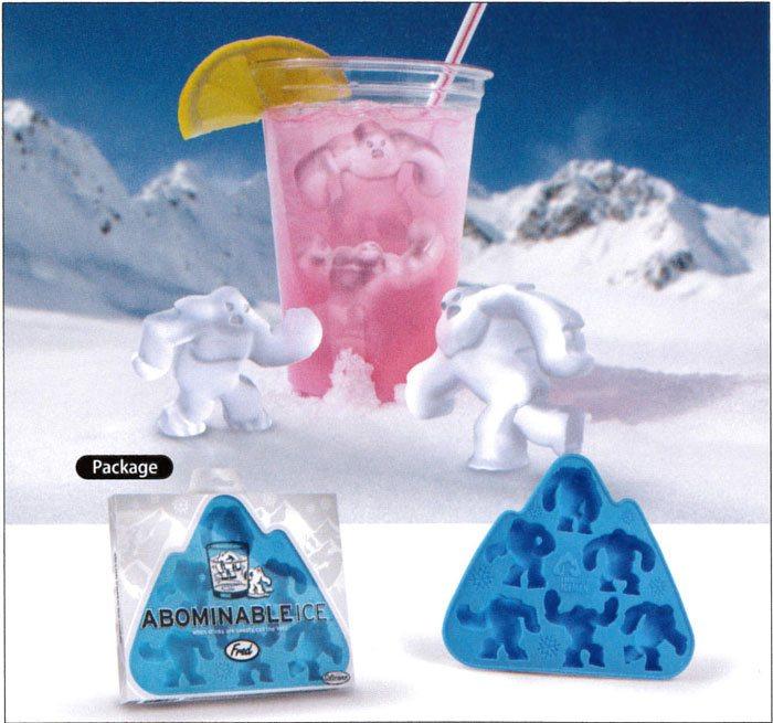 スノーモンスターアイストレー [45586] ■ 雪男 製氷皿 おもしろ 面白 型 バレンタイン チョコ アメリカン雑貨