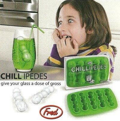 【45488 Fred アイストレークールバグ】 製氷皿 面白 おもしろ イモムシ アメリカン雑貨 【あす楽対応】